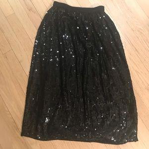 Modi vintage sequins skirt 6/8